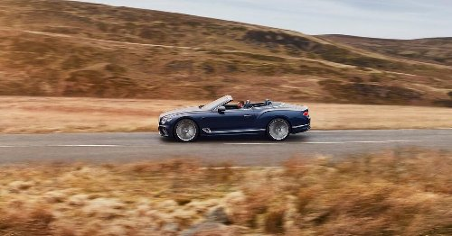 2022 Bentley Continental GT Speed Convertible offers huge speed and epic luxury