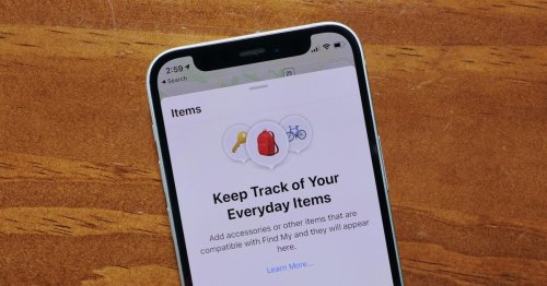 Apple's Find My app can now help you find more things