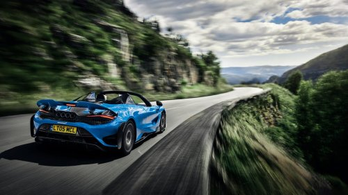 McLaren's 765LT Spider provides supercar thrills without a top