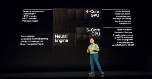 iPhone XS' industry-first A12 chip gives Apple big advantage over rivals