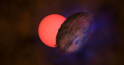 Astronomers see giant star briefly vanish behind 'dark, large' object of unknown origin