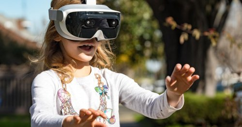 VR is useless when you have a baby