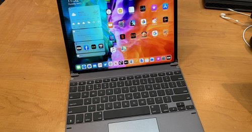 Hands-on with the iPad Pro's first trackpad keyboard case