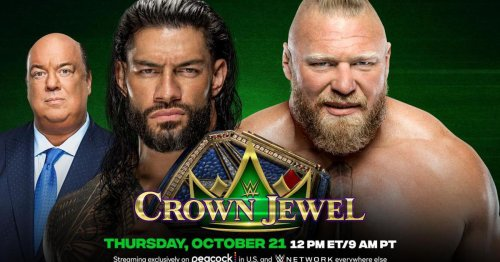 WWE Crown Jewel 2021: Results, live updates and match ratings