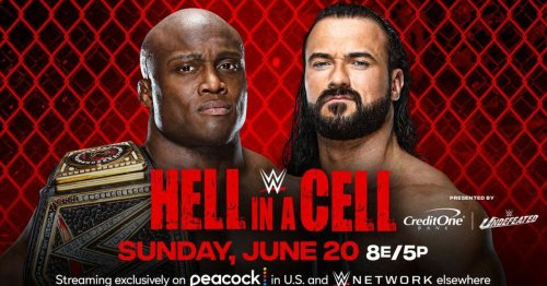 WWE Hell in a Cell 2021: How to watch, start times and match card