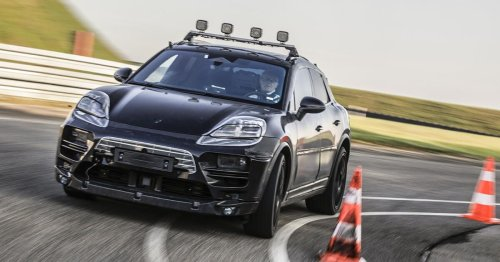 Porsche Macan EV will have 'significantly more' range than Taycan