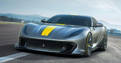 Ferrari 812 Competizone revealed: More power, greater aero for this prancing horse