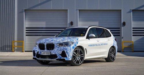 BMW i Hydrogen Next fuel cell vehicle begins testing on public roads