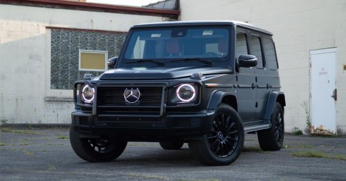 Mercedes G-Class SUV is the fastest-selling car in the US
