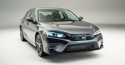 2022 Honda Civic debuts with fabulous new interior
