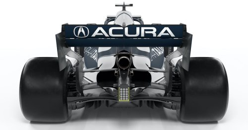 Acura is throwing its logo back into Formula 1 at the US GP