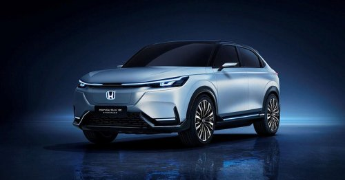 Honda debuts a slick prototype electric SUV in Shanghai