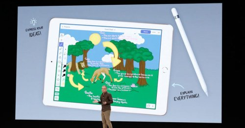Apple's new $329 iPad with Pencil support takes on Chromebooks