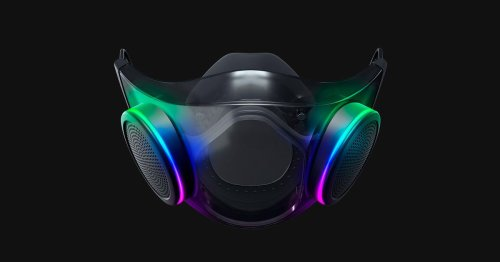 Razer will start shipping its Project Hazel N95 mask in October