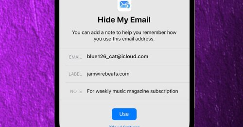 Apple: 1, Spam: 0? How a new email feature aims to keep spammers off your trail