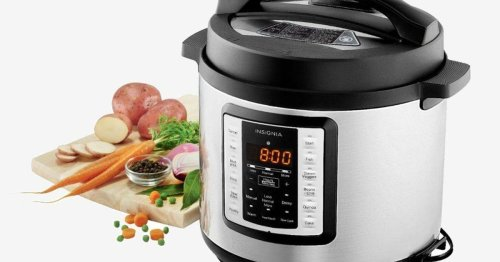 Today only: Grab Insignia's 6-quart pressure cooker for $25, the lowest price ever