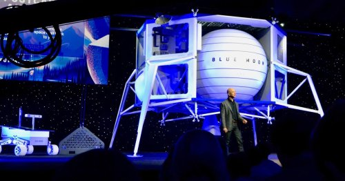 Keep Amazon's Jeff Bezos from returning to Earth, petitions beg