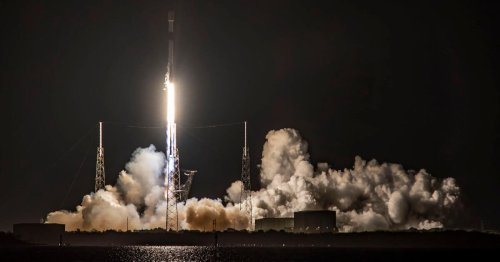 SpaceX rocket makes record 10th flight while Elon Musk parties post-SNL