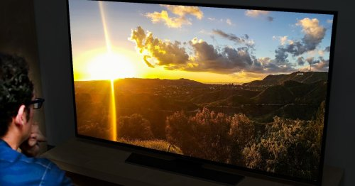 Your TV is way too bright, and your eyes are paying the price