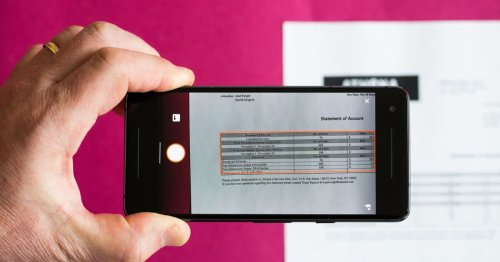 Use your phone to turn a photo into an Excel spreadsheet in a snap