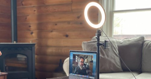 Make your MacBook webcam look better in Zoom meetings with these tricks