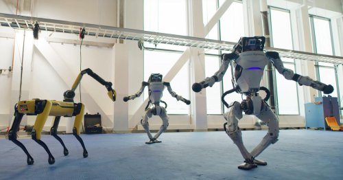 See Boston Dynamics robots show off some seriously impressive dance moves
