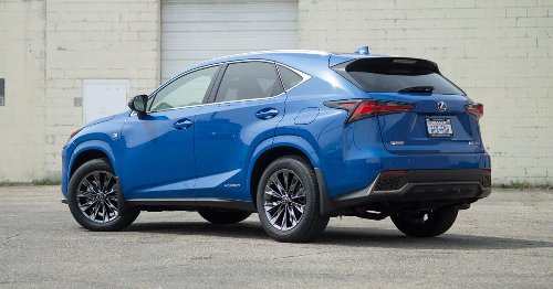 2021 Lexus NX 300h is cool and collected