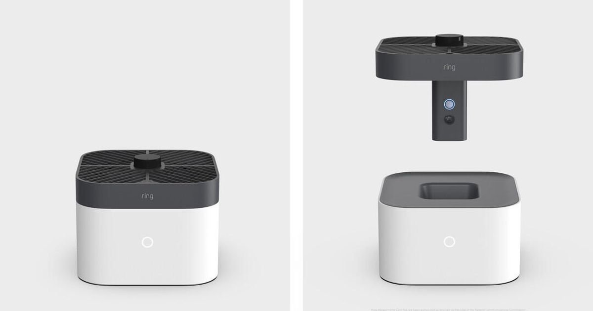 Amazon's new Ring camera is actually a flying drone -- for inside your home