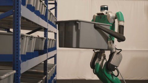 Meet Digit, the humanoid robot from Agility Robotics - Video