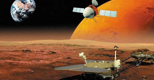 We don't know if China's Mars rover touched down on the red planet -- yet