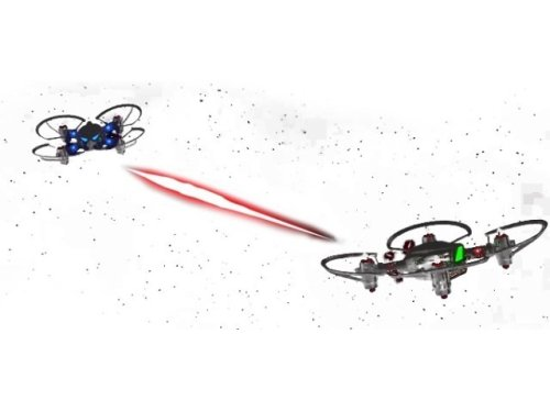 プログラミング可能なドローン「CoDrone」--空中戦や自動追尾など