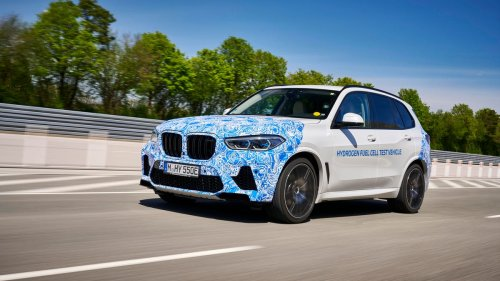 BMW's i Hydrogen Next fuel cell vehicle starts testing in public