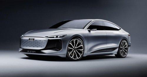 Audi A6 E-Tron concept is a sleek EV hatchback with 435 miles of range