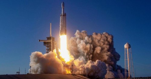 SpaceX Falcon Heavy picked to deliver lunar rover to moon's south pole