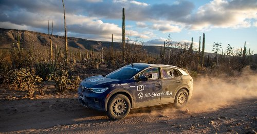 Volkswagen's all-electric ID 4 gets dirty in Baja