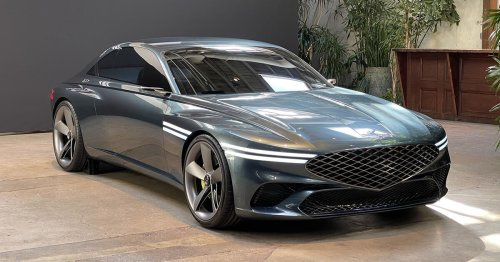 The Genesis X concept is an absolutely spectacular electric coupe