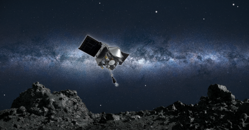 NASA's Osiris-Rex landed on an asteroid, today it heads home with a sample