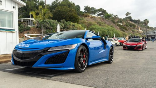 The 2021 Acura NSX supercar is a real head-turner