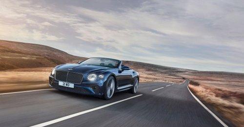 Bentley debuts its 650-hp Continental GT Speed Convertible