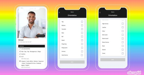 OkCupid offers LGBTQ daters more ways to identify themselves