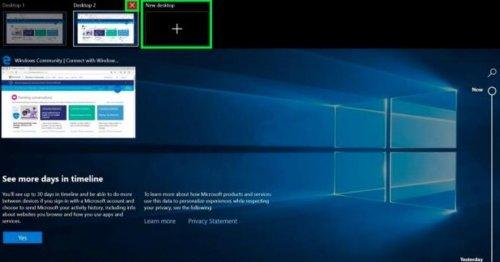 Virtual desktops: How to use multiple desktops in Windows 10