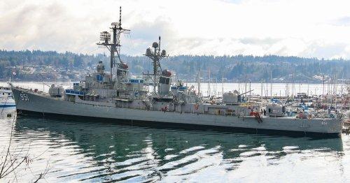 Cold War destroyer: Inside the USS Turner Joy