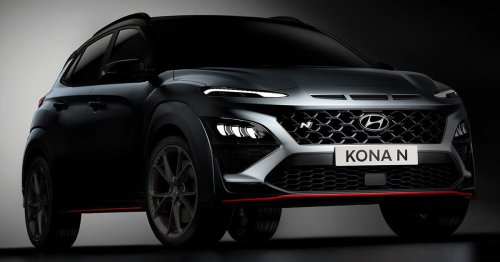 Hyundai Kona N reveal scheduled for end of April