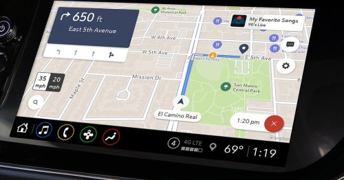 GM vehicles without built-in navigation gain with Maps Plus rollout