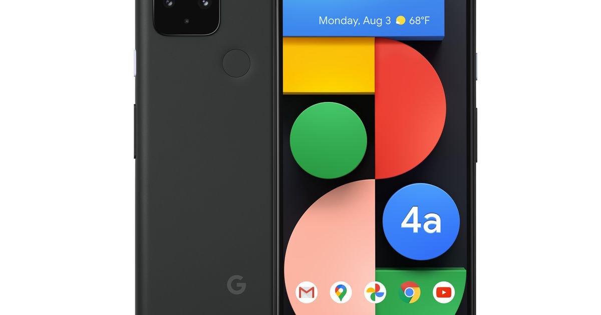 Google reveals its $499 Pixel 4A 5G, but a US release isn't coming until November