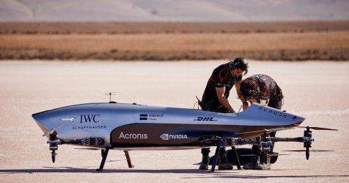 Airspeeder eVTOL racing series makes historic first flight