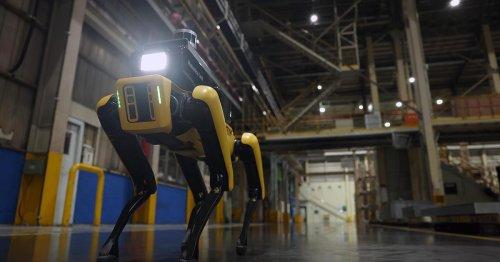 Boston Dynamics' Spot becomes robotic watchdog for Hyundai