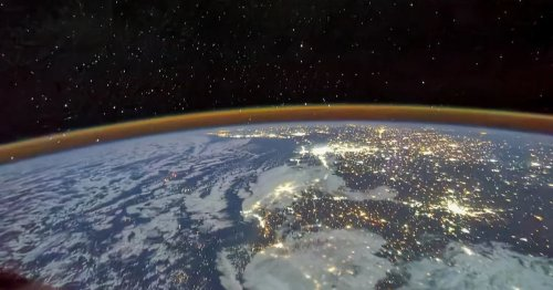 See Earth sparkle in knockout views from China's new space station
