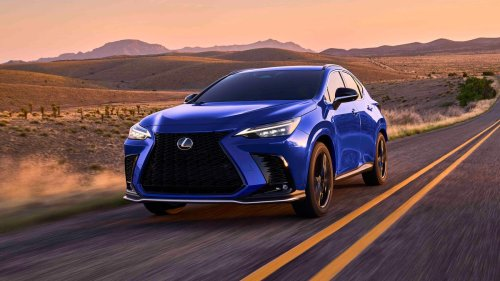 2022 Lexus NX crossover looks better inside and out