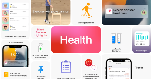 New Apple Health features will track risk of falling, offer better health data sharing